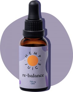 Olejek CBD - RE-BALANCE 30ML 750mg